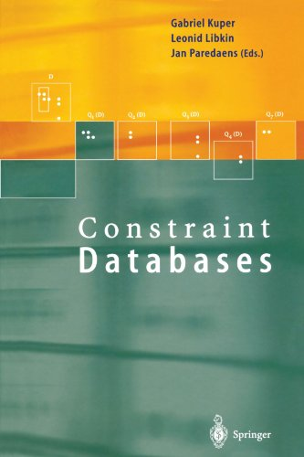 Constraint Databases by Kuper Gabriel Libkin Leonid Paredaens Jan