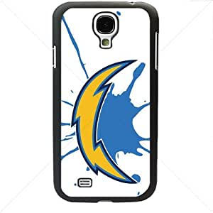 NFL American football San Diego Chargers Fans Samsung Galaxy S4 SIV I9500 TPU Soft Black or White case (Black)