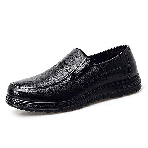 Color Negro Hombres Zapatos Foot Marrón Foot Jusheng Shoes Classic Negocios Oxford 38 Formal Oxford tamaño Casual para de EU Simple Toe q4nwfRx1Z