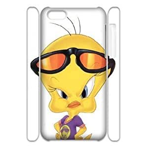 3D Tweety Bird Angry IPhone 5C Case, Case Tyquin {White}