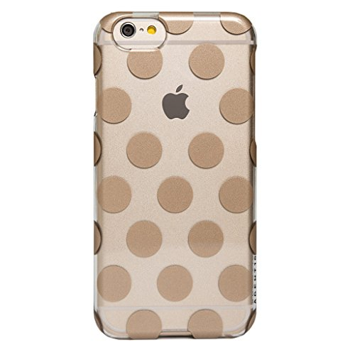Agent 18 SlimShield Case for iPhone 6 – Gold Dots/Clear