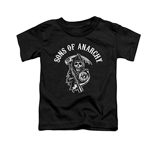 Sons of Anarchy SOA Reaper Toddler T-Shirt 4t Black