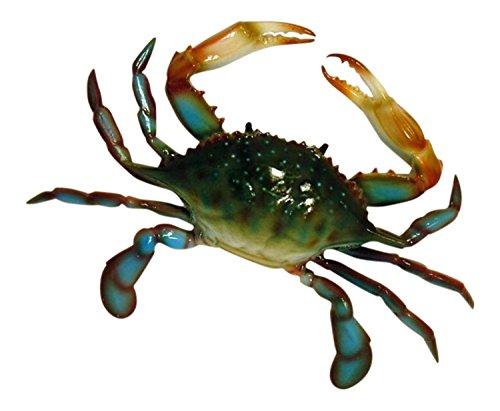 Charlotte International Large Replica Chesapeake Bay Blue Crab Wall Decor (Chesapeake Crabs Blue)
