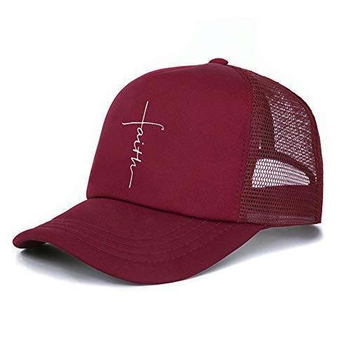Fashion Faith Logo Adult Baseball Cap Women Men Cotton Clean Up (Adjustable)]()
