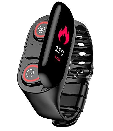 LEMFO M1 Newest AI Smart Watch with Bluetooth Earphone Heart Rate Monitor Smart Wristband Long Time Standby Sport Watch Men