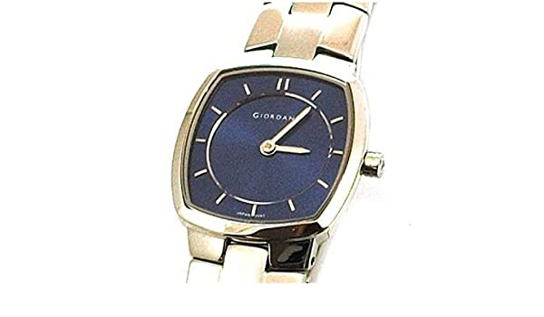 Giordano 2097-3 Ladies Blue Dial Bracelet Strap Watch Uhren & Schmuck