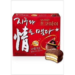 [オリオン] チョコパイ〈12個入り〉 (420g)