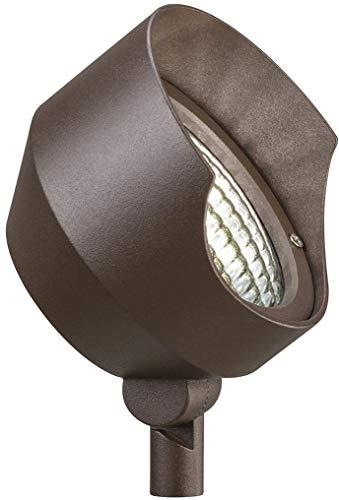 (Kichler 15390AZT Accent 1-Light 12V, Textured Architectural Bronze)