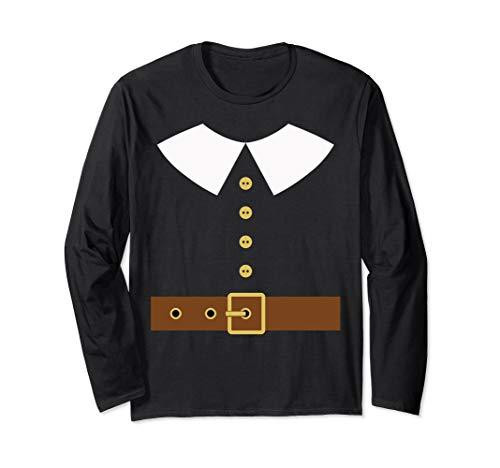Pilgrim Costume T-Shirt Long Sleeve ()