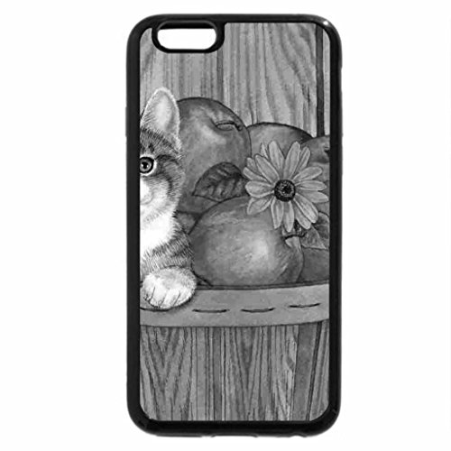 iPhone 6S Plus Case, iPhone 6 Plus Case (Black & White) - APPLES IN YOU BASKET
