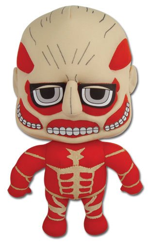"Great Eastern Attack on Titan Colossal Titan 8.5"" Plush"