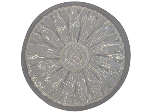 Daisy Flower Concrete Plaster Stepping Stone Mold 1036