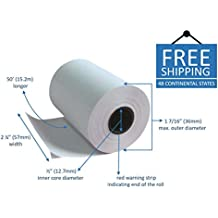 Clover Flex Mini and Mobile 2 1/4 x 50 Thermal Paper Rolls (20 rolls)