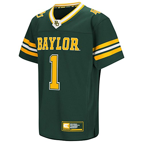 Colosseum Youth Hail Mary Baylor University Bears Football Jersey (YTH (6-7))