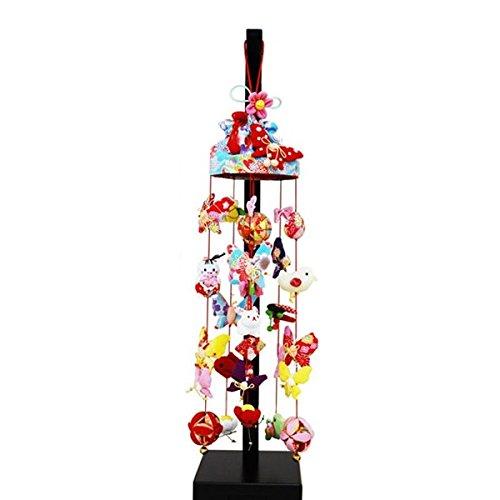 吊るし飾り アゲハ蝶 小 スタンド付き sb-3-1s 飾り台セット   B075KZS3T6