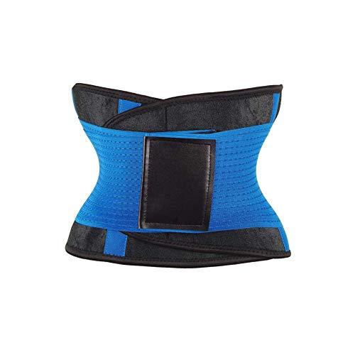 - Women Slimming Belt Waist Cincher Girdles Firm Control Waist Trainer Corsets Plus Size,Blue,XL