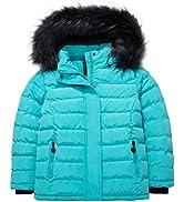 ZSHOW Girl's Winter Cotton Padded Coat Outdoor Windproof Jacket Warm Fleece Coats