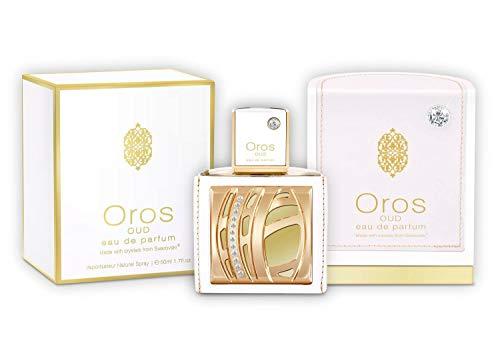 Armaf Oros 3pc set 2.9 Oz Eau De Parfum Spray +5.0z Body Spray+ 3.4oz Shower Gel Gift for Men with Swarovski ElementsSpecial Free Gift with Purchase