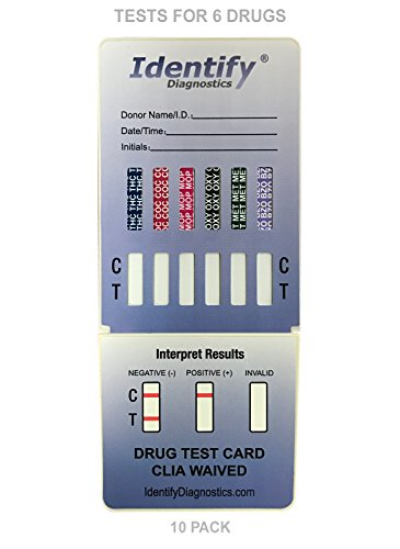 10-Pack-Identify-Diagnostics-6-Panel-Drug-Test-Dip-with-Low-Opiates-Cutoff-Testing-Instantly-for-6-Different-Drugs-THC-COC-MOP-OXY-MET-BZO-ID-CP6-DIP