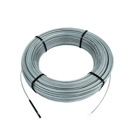 Schluter-Systems DITRA-HEAT (120V) Floor Heat Cable, warms 83 sq ft [DHEHK12083] adaptable to any layout, adds comfort to any room, quickly and easily installs into membrane before tile/stone