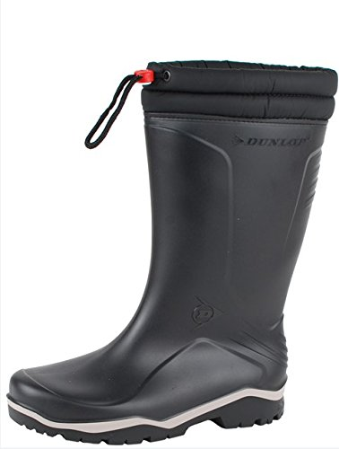 Dunlop Protective Footwear Dunlop Blizzard, Botas de Agua Unisex Adulto, Negro Black), 45 EU