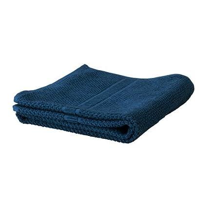 fräjen – Toalla de baño, color azul oscuro