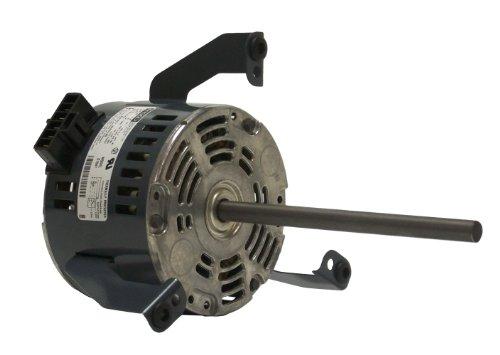 Fasco D1049 5.0-Inch Diameter PSC Motor, 1/20-1/40-1/50 HP, 265 Volts, 1075 RPM, 3 Speed, .4-.2-.1 Amps, CW Rotation, Sleeve Bearing - 0.1 Hp Motor