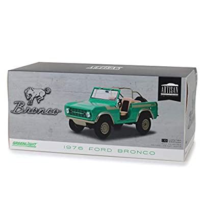 1976 Ford Bronco Twin Peaks Green Gas Monkey Garage (2012) TV Series 1/18 Diecast Model Car by Greenlight 19034: Toys & Games