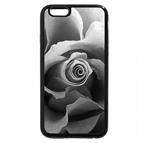 iPhone 6S Plus Case, iPhone 6 Plus Case (Black & White) - A rose for Christmas
