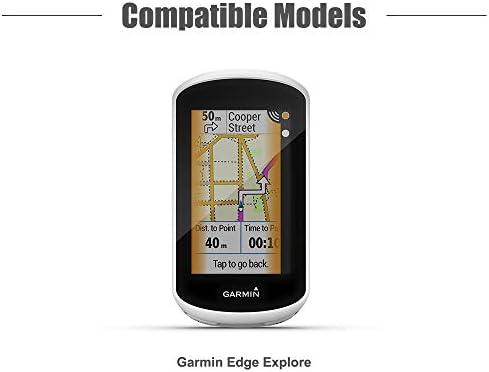 Protectora de Silicona Skin Accesorios para computadora con GPS Approach G8 TUSITA Funda para Garmin/Edge/Explore 1000