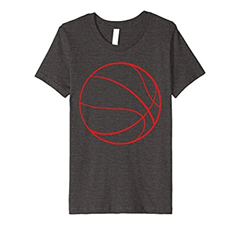 Kids Basketball Shirt 6 Dark Heather - Basketball Jerseys Heather
