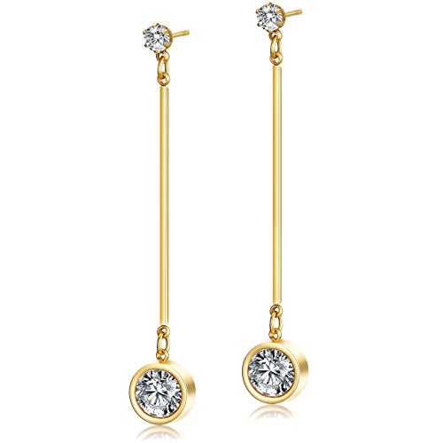 Ciunofor Drop Earrings for Women Girls D...