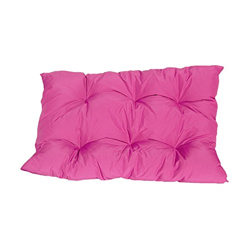 "PROLINEMAX 40"" x 31"" Magenta Soft Replacement Cushion Pillow Pad Seat Cover for Egg Hanging Wicker Swing Chair For Sale"