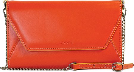 Lodis Women s Audrey Finn Phone Crossbody, Tangerine, US  Handbags ... 4dff412d8b