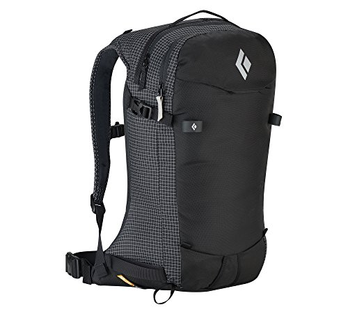 Black Diamond Dawn Patrol 25 Backpack Black M/L and HDO Lite E-tip Gloves with Grippers