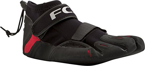 FCS SP2 Reef Bootie - Black / Red - Select Size