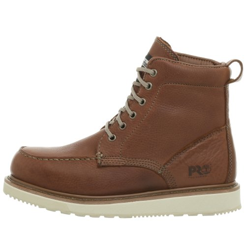 Timberland PRO Mens 53009 Wedge Sole 6 Soft Toe BootRust8 W FrenzyStyle