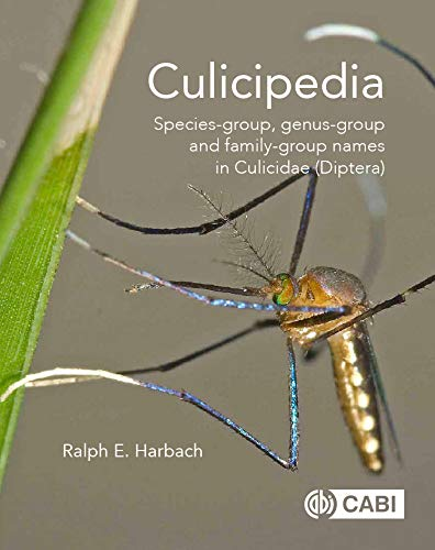 Culicipedia  Species Group Genus Group And Family Group Names In Culicidae  Diptera