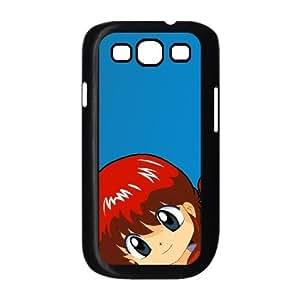 Funda Samsung Galaxy S3 9300 T3H2SF funda caja del teléfono celular Negro Ranma