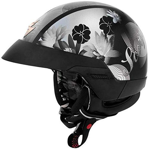 Scorpion EXO-100 Lilly Black Half Helmet - 2X-Large