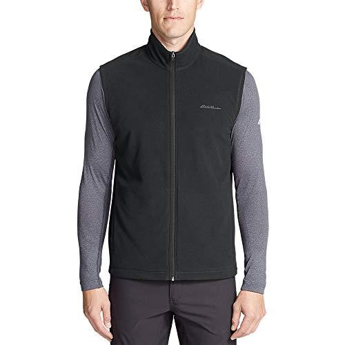 Eddie Bauer Men's Quest Fleece Vest, Dk Smoke Regular L (Quest Vest)