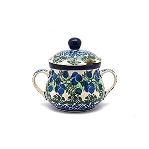 Polish Pottery Sugar Bowl – Huckleberry
