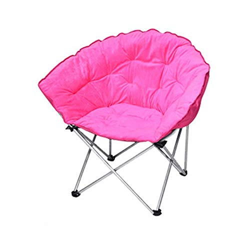 Garden Relaxer Chair, Zero Gravity Foldable Large Lazy Recliner Dormitory Lunch Break Lazy Couch Sun Lounger Leisure (Color : Pink)