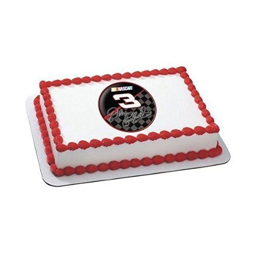 Nascar ~ Dale Earnhardt #3 Logo Edible -