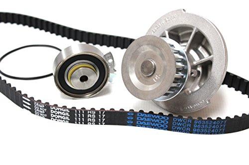 MOCA TCK335 Timing Belt Kit with Tensioner Fit 2004-2008 Chevrolet Aveo /& 2006-2008 Pontiac Wave /& 2004-2007 Suzuki Swift 1.6L L4