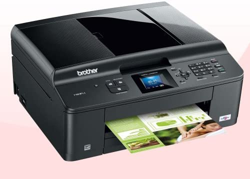 Brother MFCJ430W - Impresora multifunción de Tinta Color (A4, 10 ppm, WiFi)