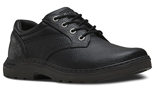 [Dr. Martens Men's Prestige Work Oxfords, Black Leather, 7 M UK, 8 M US] (Dr Martens Work Shoes)