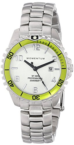 Momentum Women's 1M-DV07WL0 M1 Mini Analog Display Japanese Quartz Silver Watch