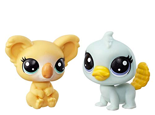 Littlest Pet Shop Kami Koalapuff 1-152 Pammy Platyfoot 1-151 ()