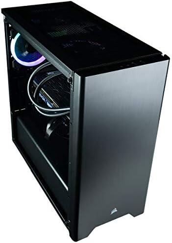 CUK Sentinel Black Gaming PC (Liquid Cooled Intel i9-9900KF, 32GB RAM, 1TB NVMe SSD + 2TB HDD, NVIDIA GeForce RTX 2080 Ti 11GB, 750W Gold PSU, Windows 10) Best Tower Desktop Computer for Gamers 4